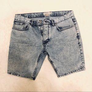 Topman acid washed men's shorts 32